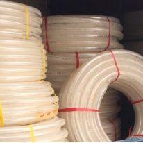 ống lưới dẻo trắng Phi 40